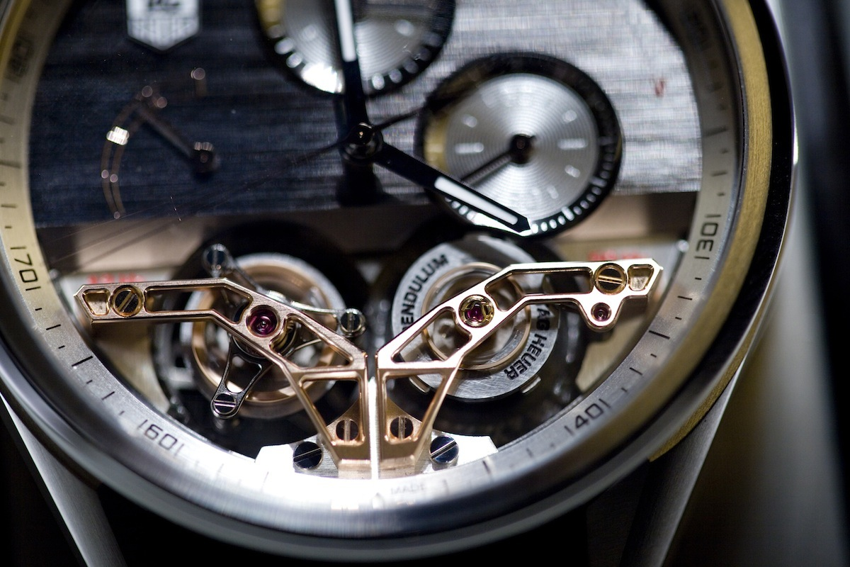 Replica TAG Heuer MikroPendulumS with Two Magnetic Tourbillons