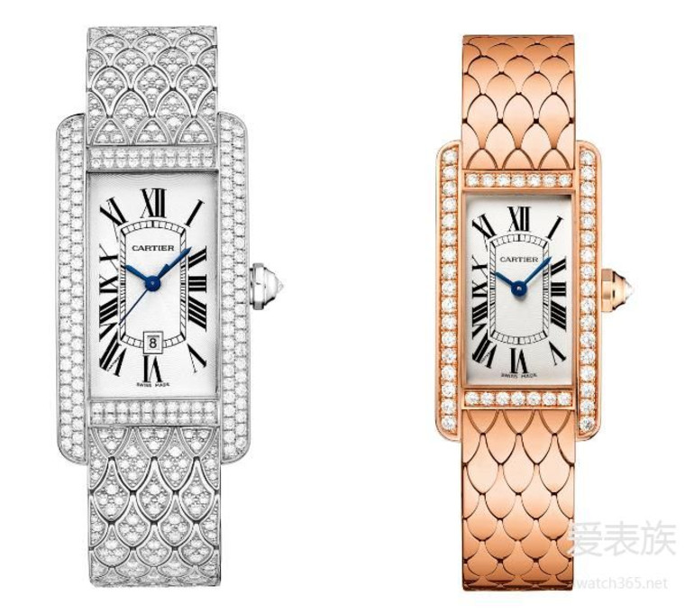 Best Replica Cartier Tank Américaine Diamonds Watch