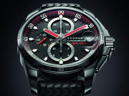 Black rubber chopard mille miglia gran turismo xl alfa romeo watch replica