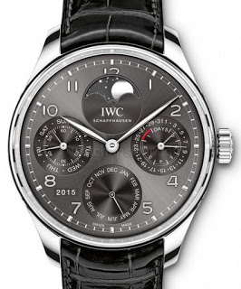 Best Replica IWC Portugieser Perpetual Calendar Single Moon Phase Watches REF. IW5033
