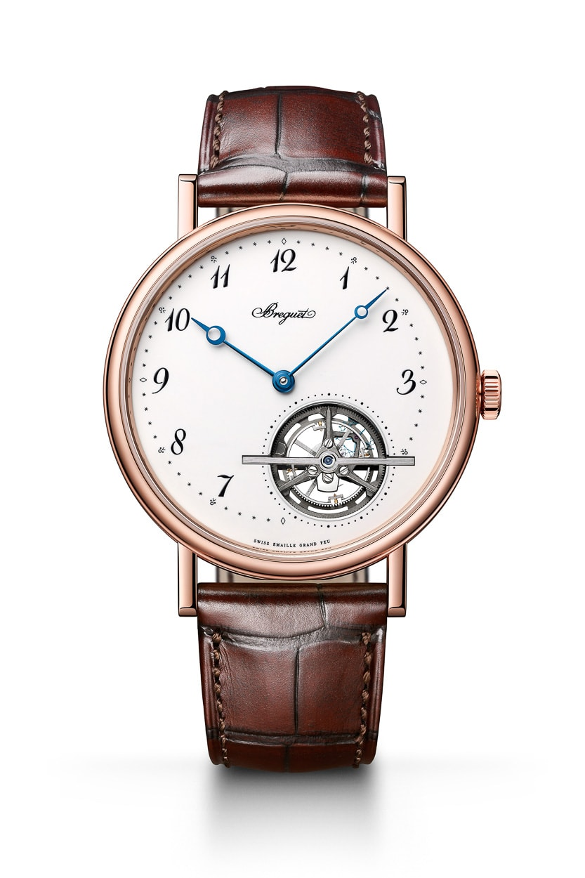 "Grade 1 Replica Watches NEWS: Breguet Classique Tourbillon Extra-Plat Automatique With ""Grand Feu"" Enamel Dial"