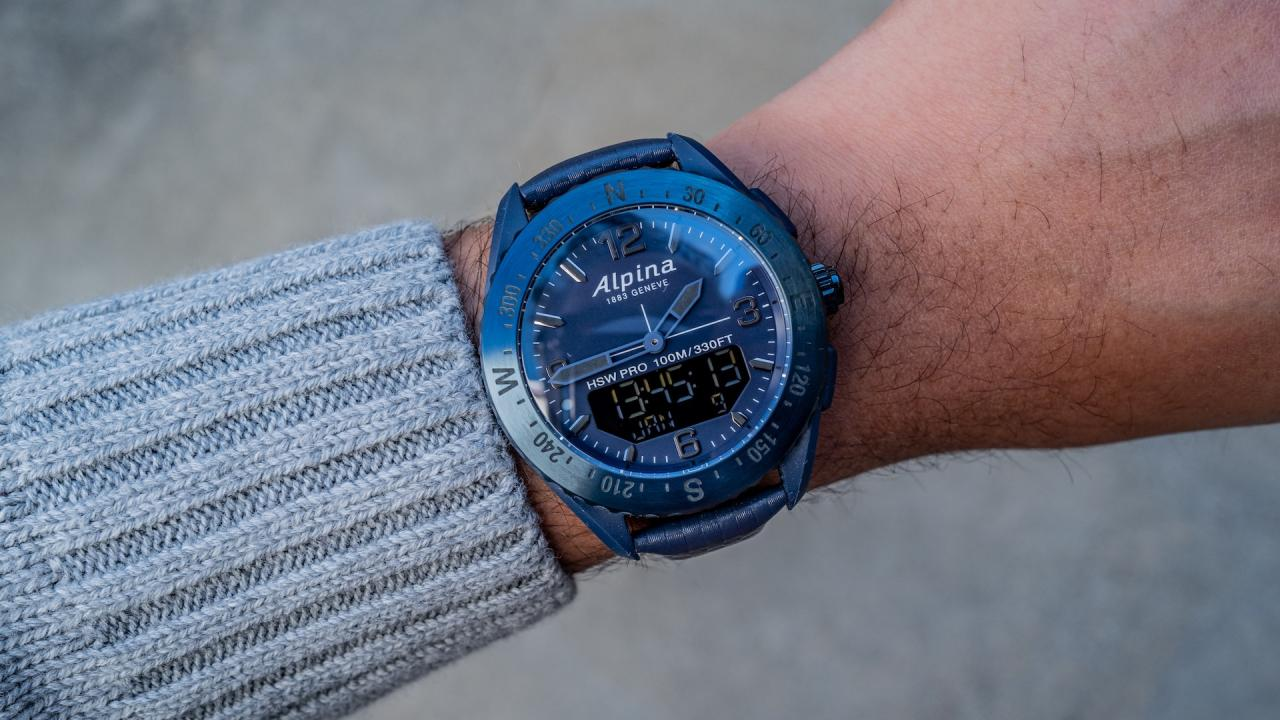 Alpina AlpinerX Space Edition Smartwatches replica