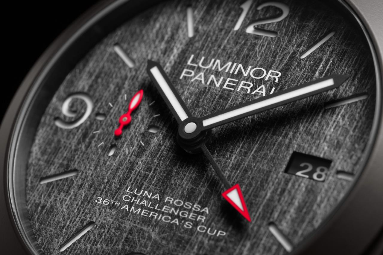 Panerai Adds Titanium Luminor GMT Replica Watch To Luna Rossa Sailing Team Collection